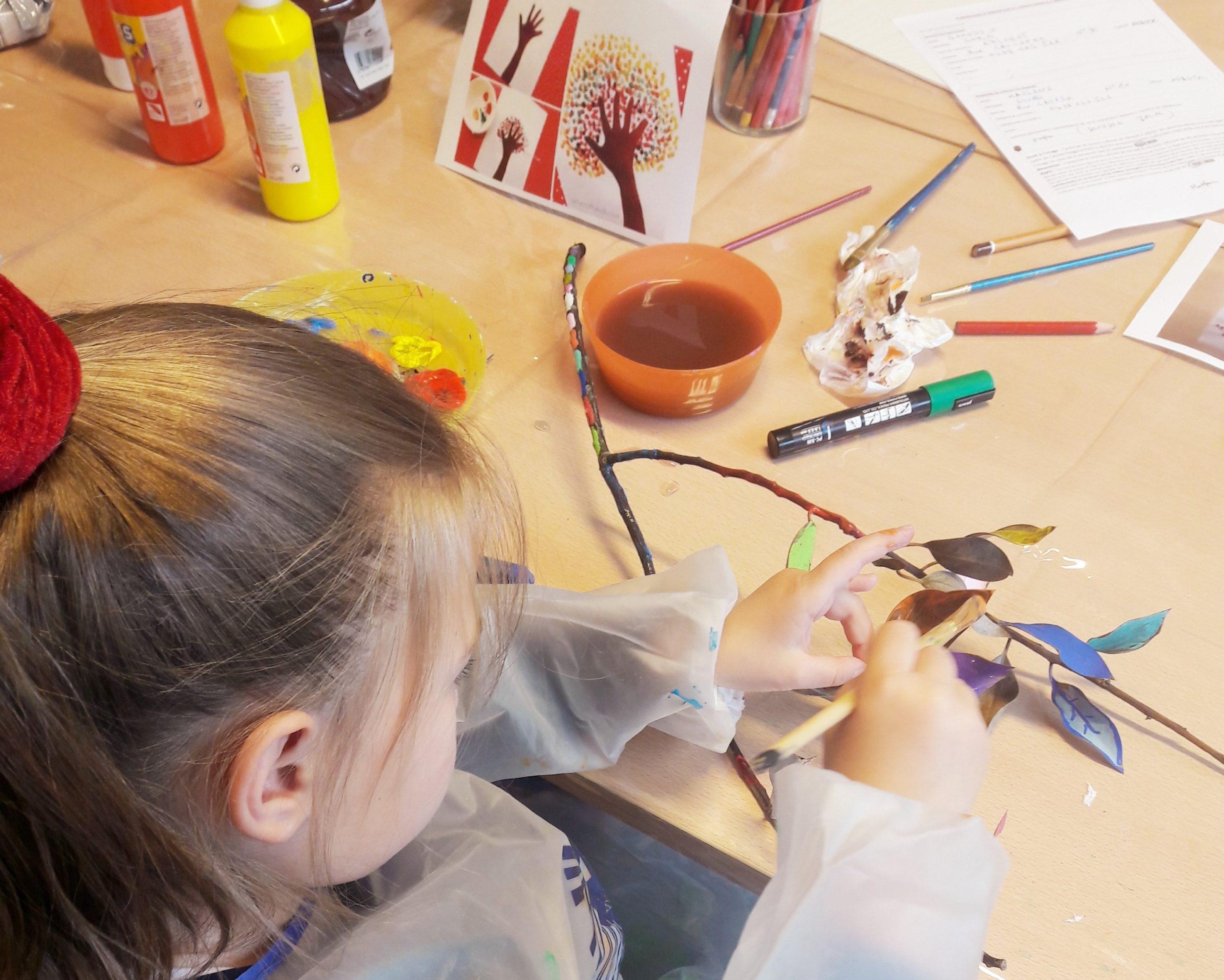 Reprise des ateliers créatifs pour enfants