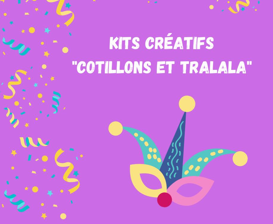 Kits créatifs et stage pendant les vacances de Carnaval