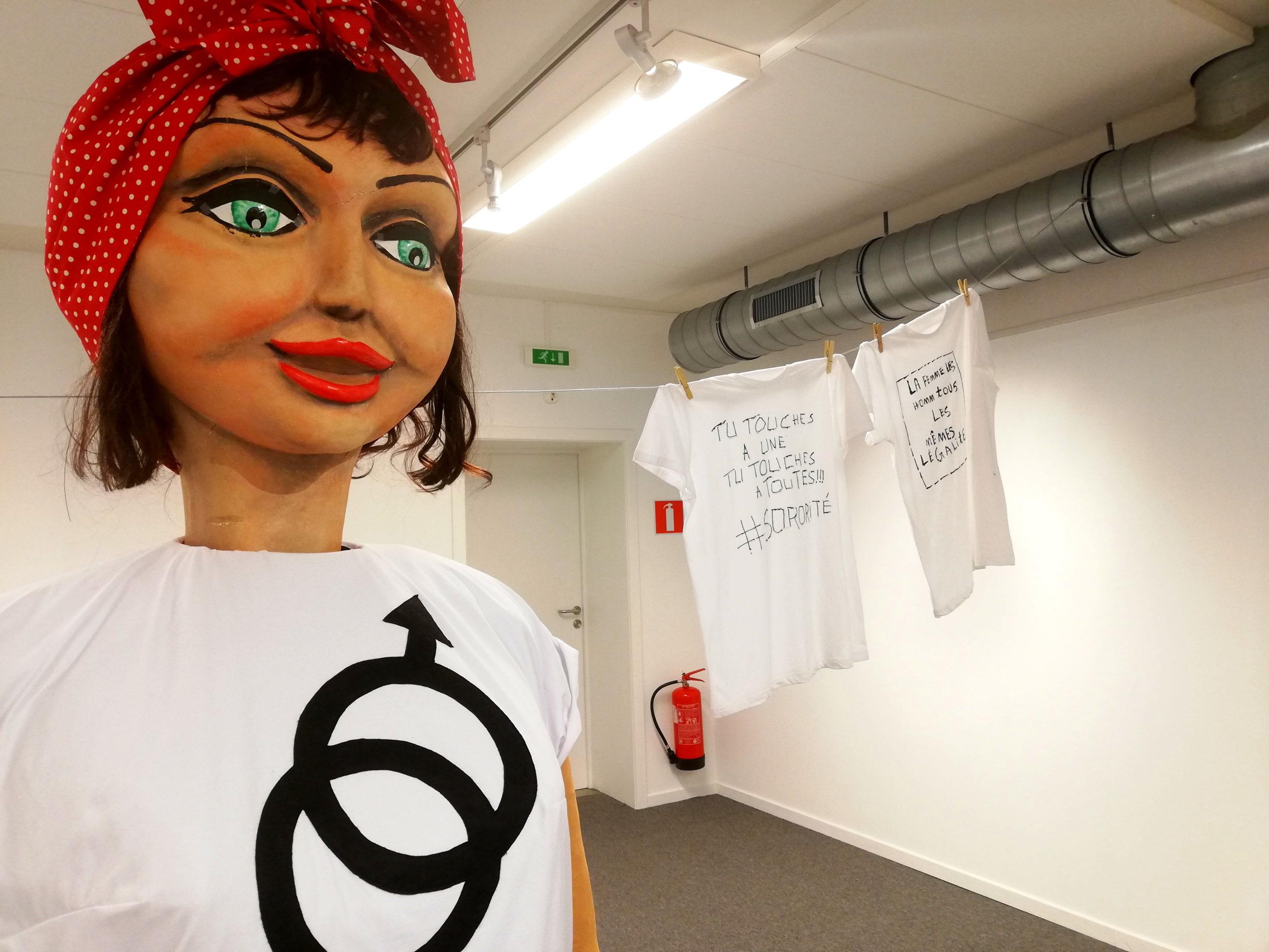 """Exposition / Manifestation """"Un T-shirt qui porte ma voix"""""""