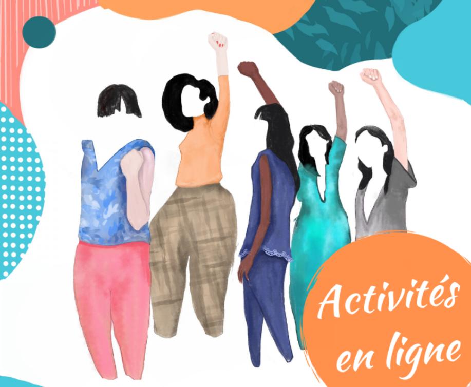 Femmes en Résistances : les activités en ligne
